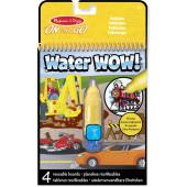Melissa & Doug Water Wow! Herbruikbare Waterverf - Voertuigen
