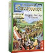 999 Games - Carcassonne uitbreiding 8: Bruggen, Burchten en Bazaars
