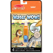 Melissa & Doug - Water Wow! Herbruikbare Waterverf - Safari