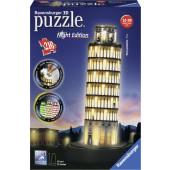 Ravensburger 3D puzzel - Toren van Pisa Night Edition (216)