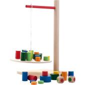 Houten Balans Spel Weegschaal