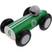 Jouéco Houten Raceauto 16 Cm Groen