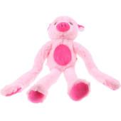 slingerknuffel varken pluche roze 48 cm