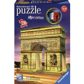 Ravensburger 3D puzzel - Arc de Triomphe Night Edition (216)