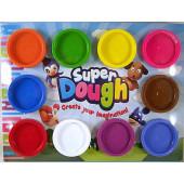 Super Dough 10 Potjes Kleuren Klei