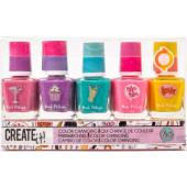 Nagellak Create It kleurveranderend 5-delig
