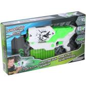 Speelgoedpistool met zachte Foampijlen Wit/groen 27,5 Cm