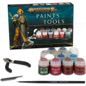 Warhammer - age of sigmar - Paints + Tools