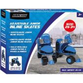 Rolschaatsen Junior Alert - Maat 29-34 - Blauw
