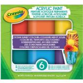 Crayola Acrylverf Oceaan Zonsondergang 6st.