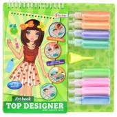 Tekenboek Mode Met Glitters