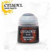 Citadel Base Paint - Abaddon black - 12ml
