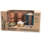 Bioplastic Dantoy  koffie servies - blauw