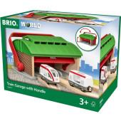 BRIO Treingarage met Hendel - 33474