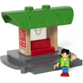 BRIO Record & Play Treinstation - 33840