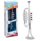 Bontempi Trompet 4 Toetsen - 42cm