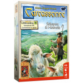 999 Games - Carcassonne Uitbreiding: Schapen en Heuvels