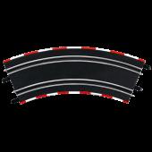 Carrera GO!!! - Flauwe Bochten 3/45 graden (323 mm) - 4 Stuks
