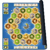 Catan playmat Atoll Bordspel