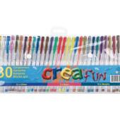 Creafun - Gelpennen 30 Stuks