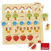 Goula - Helftenpuzzel