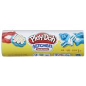 Play-doh koekjes bakken blauw