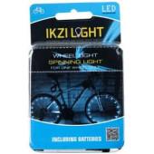 IkziLight Fietswielverlichting 2x20 LED - Rood