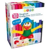Creative Kids kleiset Mr Dough 10-delig geel