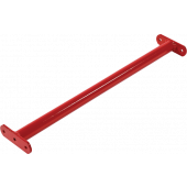 Duikelstang Rood 90 cm + Bevestigingsmateriaal