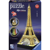 Ravensburger 3D puzzel - Eiffeltoren-Night Edition (216)