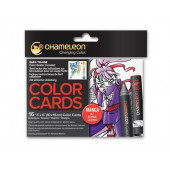 Chameleon - 16 Color Cards - Manga