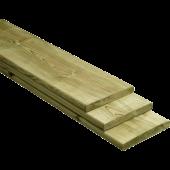 PEFC Plank Geschaafd Geïmpregneerd Grenen - 360 x 14 x 1,6 cm