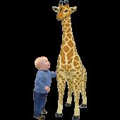 Melissa & Doug - Giga pluchen Giraffe (140cm)