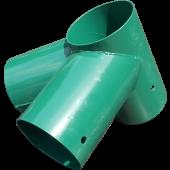 Hoekverbinding Schommel Rond 122 x 122 x 122 mm - Groen
