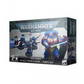 Warhammer 40K - Space Marines Assault Intercessors + Paint Set
