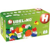 Hubelino Uitbreidingsset Wissel (43 delig) - Knikkerbaan