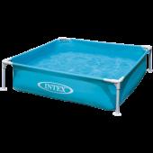 Intex Mini Frame Pool Blauw 122x122x30cm - (57173)