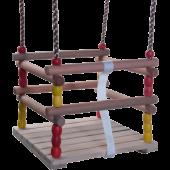 KBT houten kralen baby schommelzitje
