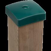 KBT - Paaldop Vierkant Groen 7x7cm