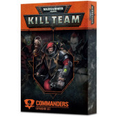 Warhammer 40K Kill Team Expansion set: Commanders