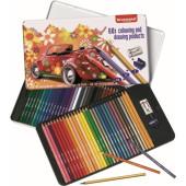 Bruynzeel - 60-delig kleurblik met potloden, gum en slijper