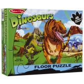 Melissa & Doug - Vloerpuzzel Land of Dinosaurs (48 dlg.)