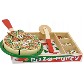 Melissa & Doug - Houten Speelgoed Pizza