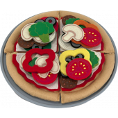 Melissa & Doug - Vilten Pizza Set