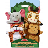 Melissa & Doug - Zoo Friends - Handpoppen
