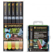 Chameleon Pens Earth and Tops Nature Bundel