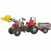 Rolly Toys - rollyJunior RT Tractor met Lader en Farmtrailer