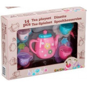 Eddy Toys Theeservies 14-delig Roze
