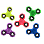Hand Spinner Glow in the Dark - Geel