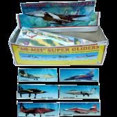 Foam glider vliegtuig 45cm